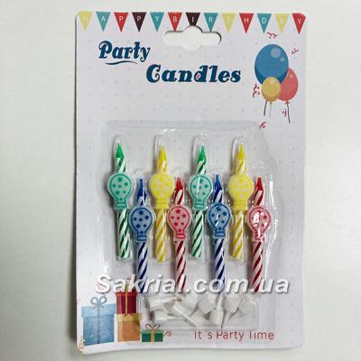 свечи шарики для торта купить