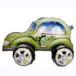 Шар 3D Машинка с динозавром (воздух)