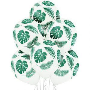 Шарики Тропические листья