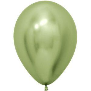 Купить шары Хром Lime (Лаймовый)
