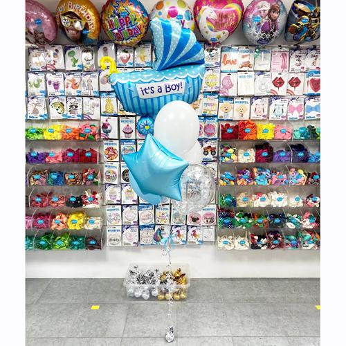 Набор из шаров на выписку мальчика в Киеве