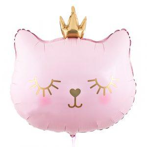 Шарик Кошечка-принцесса с короной